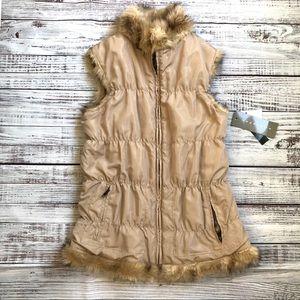 Bagatelle Reversible Faux Fur Vest